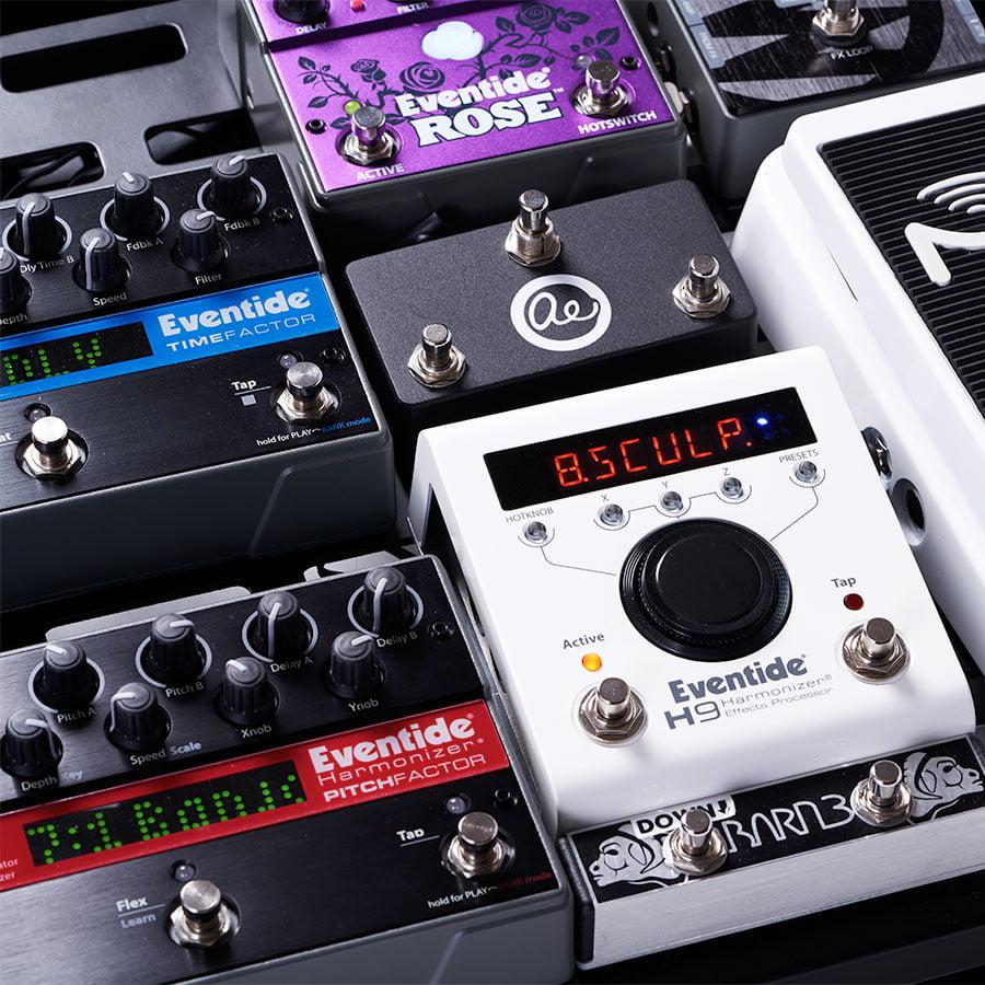 Procesadores y Efectos para Guitarra Eventide
