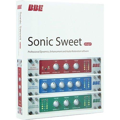 Plugin para software de grabacion BBe sonic sweet apra mejora mezclado, grabacion y masterizado