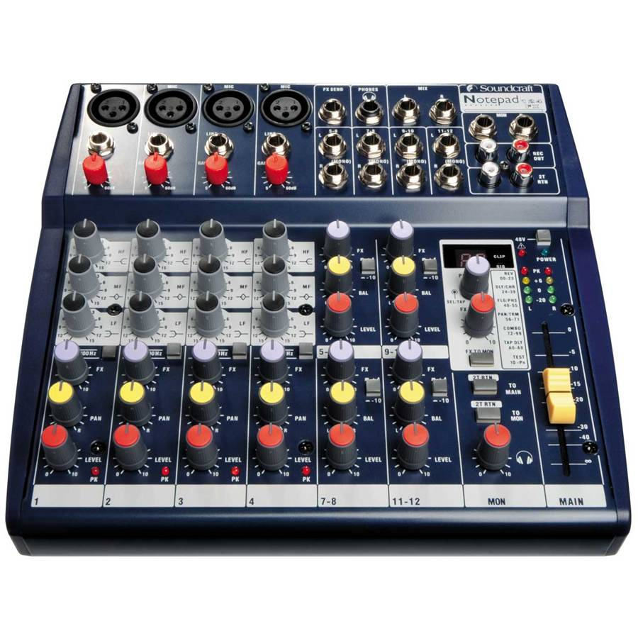 soundcraft notepad 124FX
