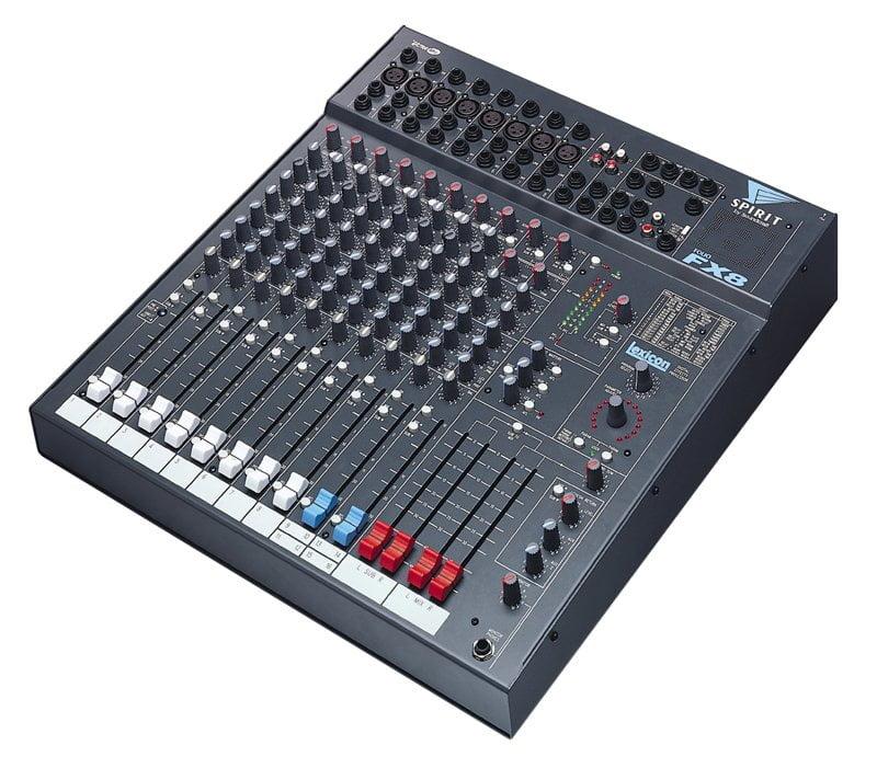 soundcraft spirit fx8